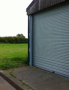 Agricultural shutters fitted by SDG UK