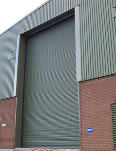 Agricultural shutters installed by SDG UK