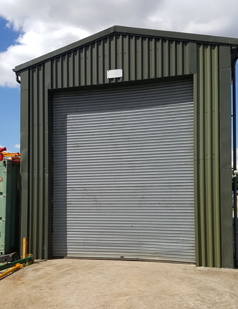 Agricultural shutters supplied by SDG UK