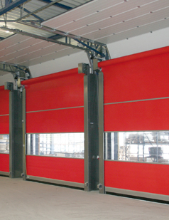 Fast action doors installed by SDG UK