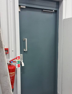 Fire doors supplied by SDG UK