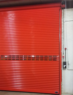 Insulated roller shutters fitted by sdg uk