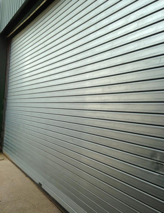 Insulated roller shutters installed by sdg uk