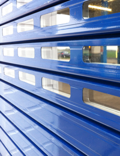 Insulated roller shutters supplied by sdg uk