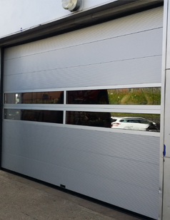 Sectional overhead doors supplied by sdg uk
