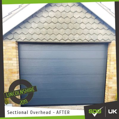 Sectional Overhead Shutter | Domestic Property