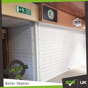 Shop Front Roller Shutter | Lincoln Hospital