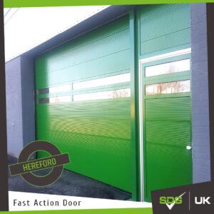 Helix Door   West Midlands Ambulance Centre