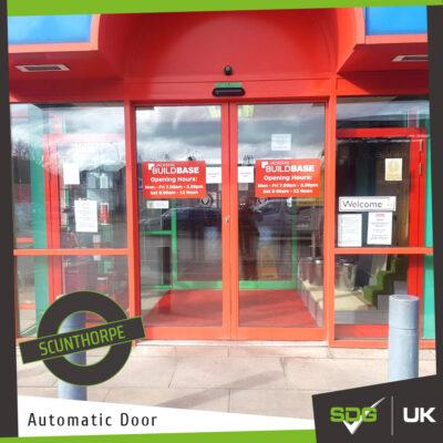 Automatic Door | Buildbase, Scunthorpe