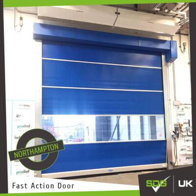 Fast Action Door | Carlsberg Brewery, Northampton