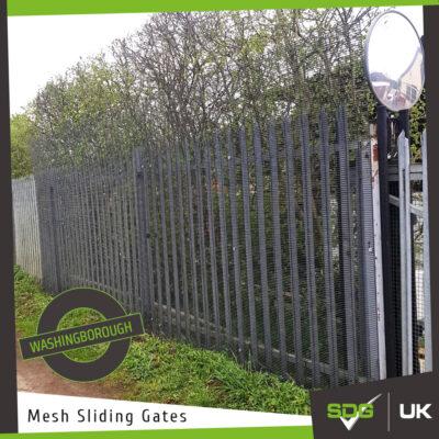 Mesh Sliding Gates | Destec Engineering, Washingborough