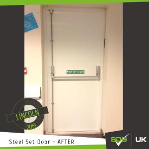 Steel Set Doors | LSST Academy, Lincoln