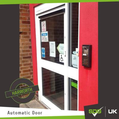 Automatic Door | Harworth Primary School, Doncaster