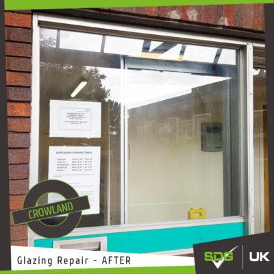 Glazing Repair | Crowland Medical Practice, Peterborough