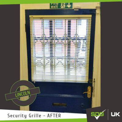 Door Security Grille | Lincoln