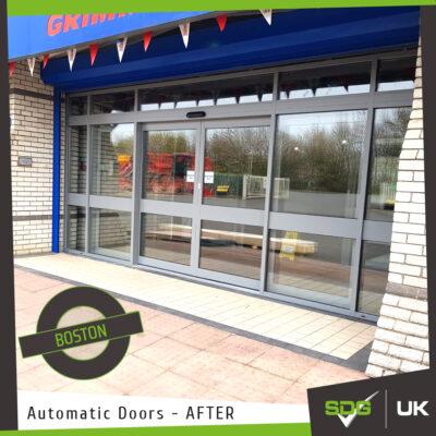 Automatic Door | Grimme UK, Boston