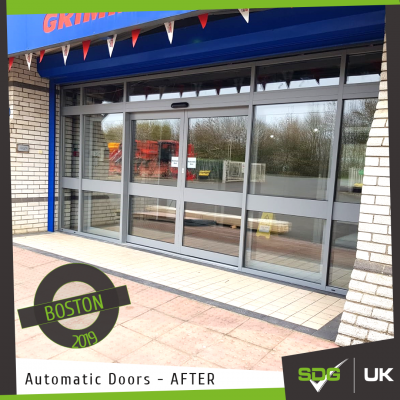 Automatic Door | Grimme UK, Boston