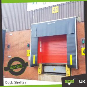 Dock Shelter   DHL Runcorn