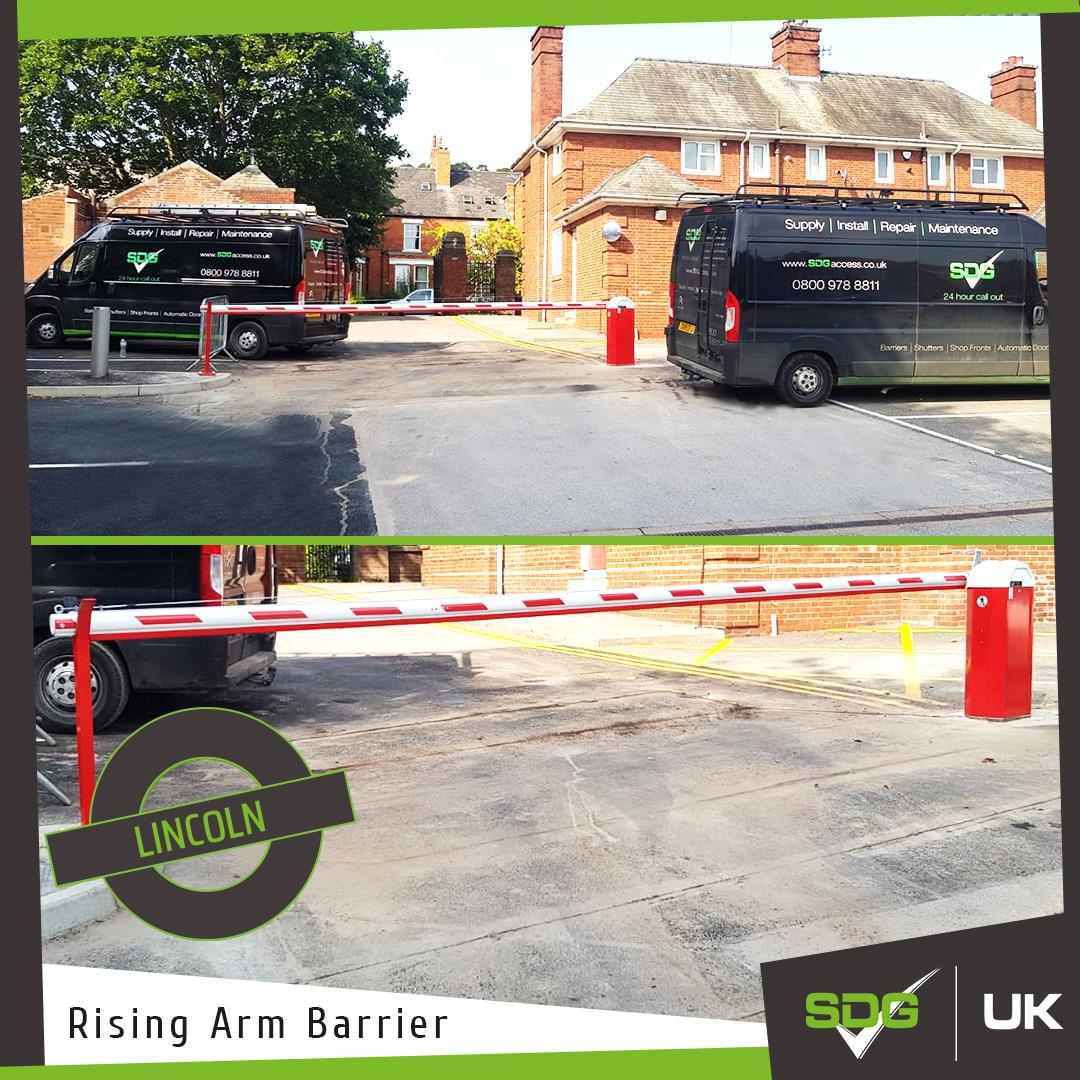 Rising Arm Barrier Installations