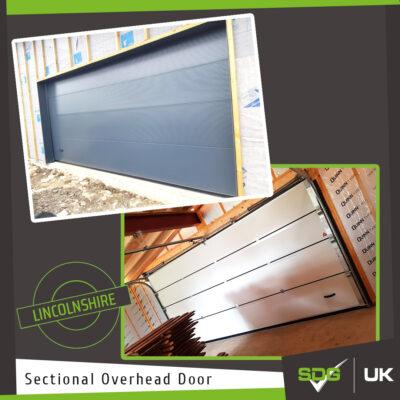 Sectional Overhead Door | Holiday Home Garage