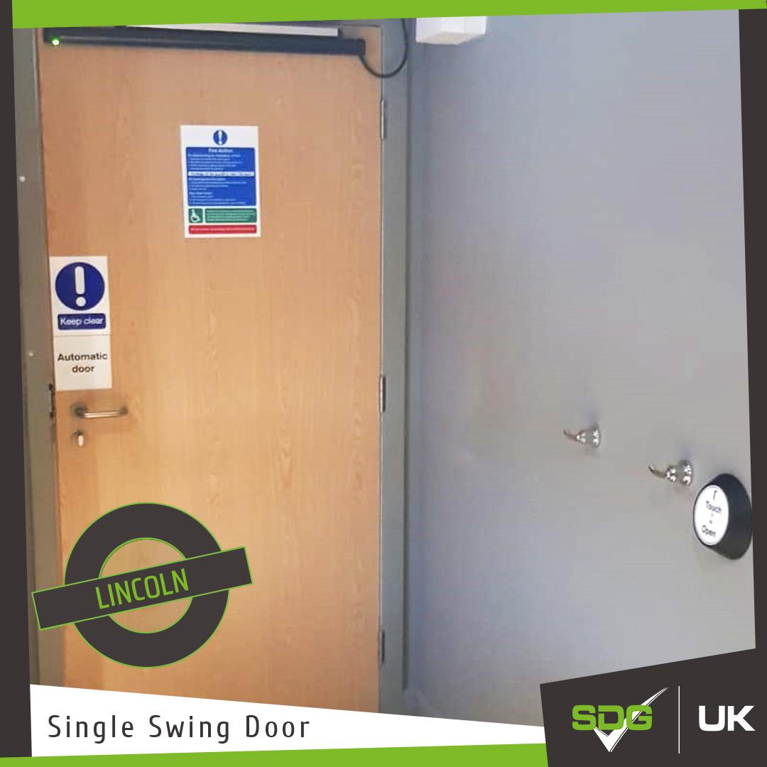 Single Swing Automatic Dooe