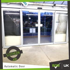 Automatic Doors | Scothern Garden Centre
