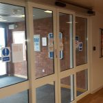 Automatic Sliding Door Installed And Supplied By SDG UK