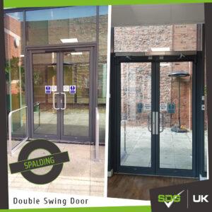 Double Swing, Push-To-Open Doors | Spalding