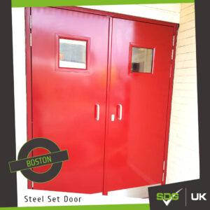 Steel Set Doors | Boston