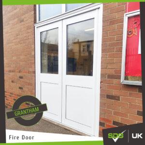 Fire Exit Door | Gonerby School, Grantham